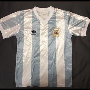 Adidas Argentina (Messi #10) Soccer Jersey